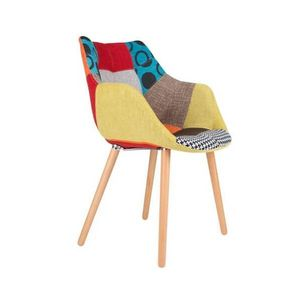 ZUIVER - chaise patchwork twelve - Stuhl