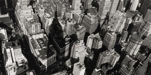 Nouvelles Images - affiche vue de l'empire state building new york - Plakat