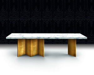 Beau & Bien - book the table - Rechteckiger Esstisch