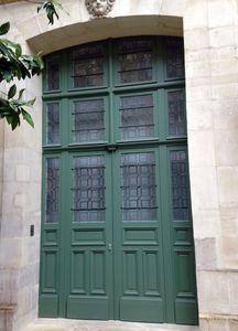 Asselin - restauration - Eingangstür