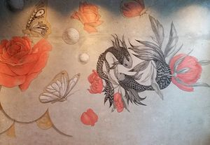 Atelier Follaco - yin-yang - Wanddekoration