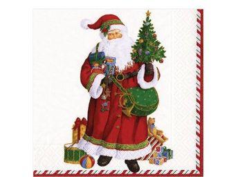 CASPARI - pere-noël - Weihnachts Papierserviette