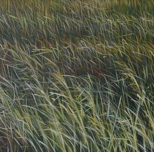 MANUEL CANCEL - grass - Zeitgenössische Gemälde