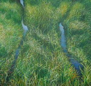 MANUEL CANCEL - aquatico - Zeitgenössische Gemälde