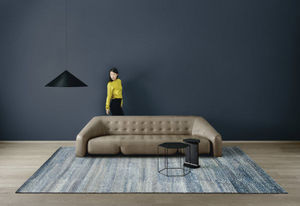 AMINI - ocean blue - Moderner Teppich