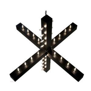 ALAN MIZRAHI LIGHTING - qz27984 noir cruzar light - Kronleuchter