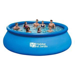 Habitat Et Jardin - piscine hors-sol autoportante 1422261 - Schwimmbad Mobil