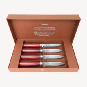 MORAKNIV - classic set of 4 - Steak Messer