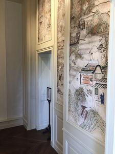 IN CREATION - reproduction de papier peint - chateau de la roche-guyon - Tapete