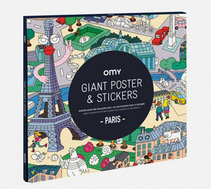 OMY - paris - Malbuch