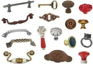 Flaner en Provence - boutons de meubles en laiton - Möbel Und Schrankknopf