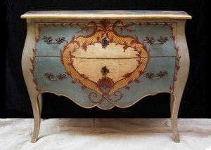 Terra Di Siena - commode cartiglio - Kommode