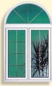 Aluminium Pierre -  - 2 Flügel Fenster