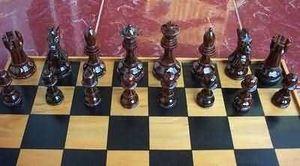 Singasari.com - black pieces - Schach