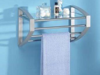 Allibert -  - Handtuchhalter Mit Regal