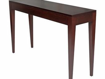 Gerard Lewis Designs - console table in wenge finish - Konsolentisch