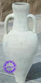 HAYDAR POTTERY - vase halbia 40 50 et 60 cm - Vasen