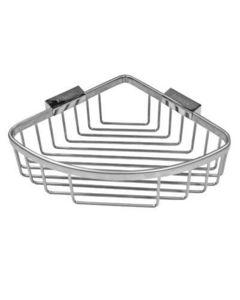 Roman - large curved corner basket - Wandseifenhalter