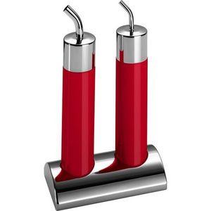 Wesco - set huile et vinaigre rouge - Essig Und Öl Set