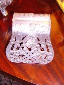 Art & Antiques - pince à asperges en argent xixème - Spargelzange