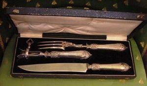 Art & Antiques - ensemble couverts à gigot - Lammkeulenhalter