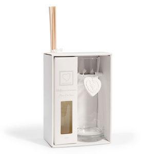 Maisons du monde - coffret diffuseur coeur céramique - Duftspender