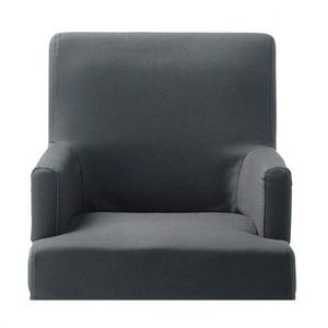 MAISONS DU MONDE - housse ardoise fauteuil de bar lounge - Sesselbezug