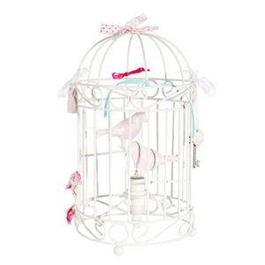 Maisons du monde - lampe cage à oiseaux - Kinder Tischlampe