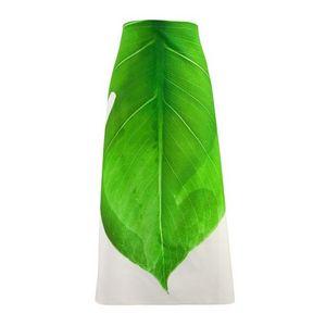 TROIS MAISON - tablier de cuisine motif feuille verte - Küchenschürze