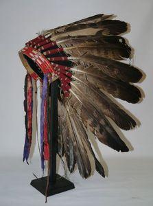 Kopfschmuck der amerikanischen Ureinwohner