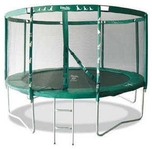 Kangui - trampoline famili 360 avec echelle - Trampolin