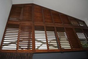 DECO SHUTTERS - shutters de formes spéciales - Klapp Lamellenfensterläden