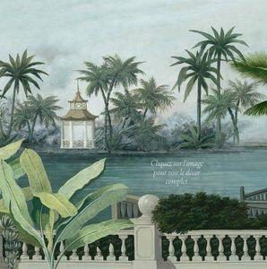 Ananbô - chao phraya - Panoramatapete