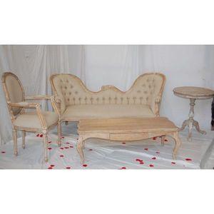 DECO PRIVE - decor boudoir ceruse pack 14 - Sitzgruppe