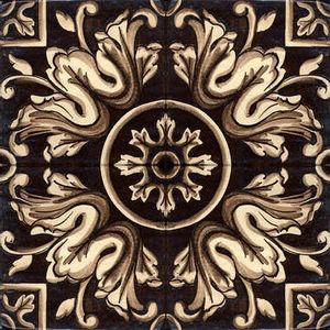 BLEU PROVENCE -  - Bodenfliese, Terrakotta