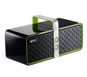 HERCULES - wireless audio experience bt03 - vert - enceinte b - Lautsprecher Mit Andockstation