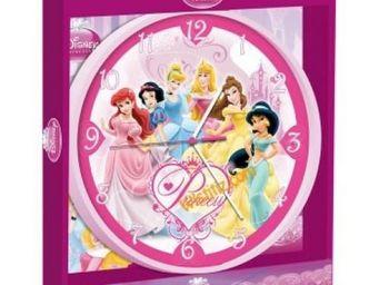 DISNEY - pendule murale princesses - Kinder Wanduhr