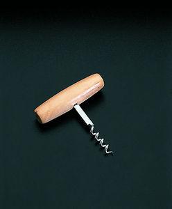 WHITE LABEL - tire-bouchon tonnelet en bois -