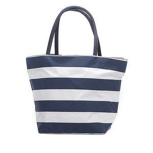 WHITE LABEL - grand sac cabas marin - Einkaufstasche