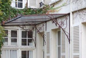 La Forge  de La Maison Dieu -  - Eingangsvordach