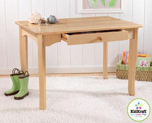 KidKraft - table avalon pour enfant en bois 91x60x62cm - Kinderschreibtisch