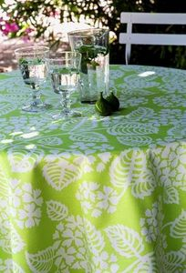 FLEUR DE SOLEIL - coton hortensia - Rechteckige Tischdecke
