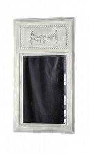 Demeure et Jardin - trumeau gris clair - Trumeauspiegel