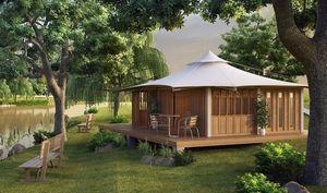 TECK TIME - 35 m² tente - Einfamilienhaus