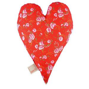 ROSSO CUORE - seeds pillow cuore - Ergonomisches Kopfkissen