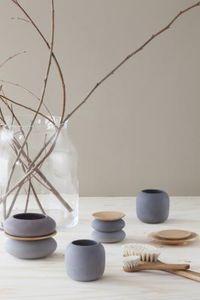 IRIS HANTVERK -  - Vase Mit Deckel