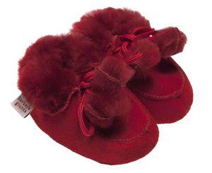 BABBI - bottine rosso - Kinder Hausschuh
