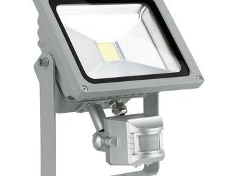 Eglo - faedo - projecteur d'extérieur alu avec détecteur - Gartenscheinwerfer