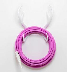 GARDEN GLORY - reindeer white hose holder - Schlauchrolle