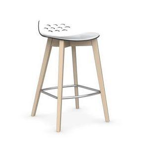 Calligaris - chaise de bar jam w de calligaris transparente ave - Barstuhl